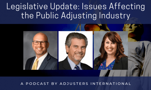 Legislative Update: Issues Affecting the Public Adjusting Industry Thumbnail Image